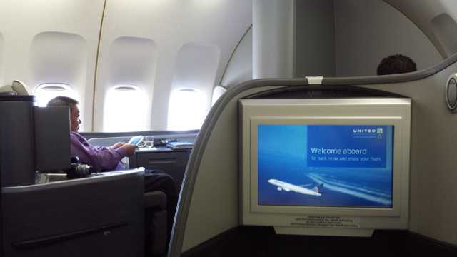 United First Class Cabin 1