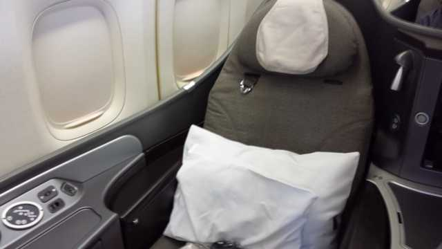 United First Class Seat 1